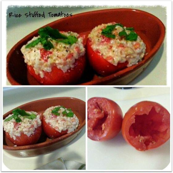 Rice stuffed collage