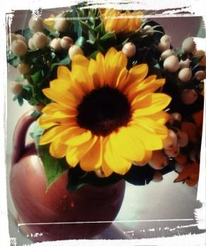 Sunflowers in a Terra Cotta Urn