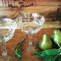 vintage glasses pear and sage - Copy