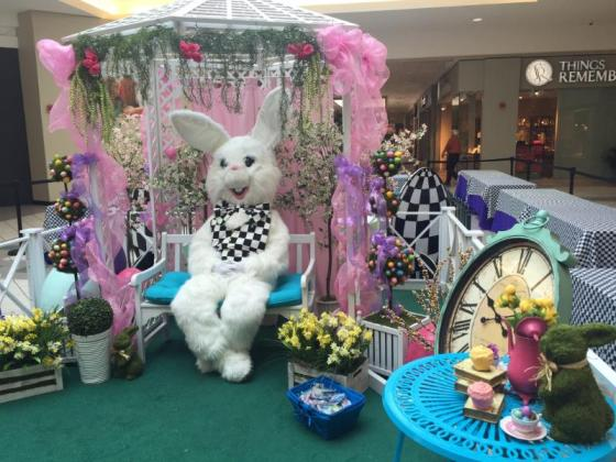 Easter Bunny Cumberland mall